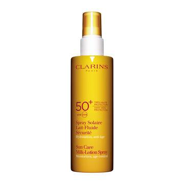 Sonnenspray Lait-Fluide für den Körper UVA/UVB 50+