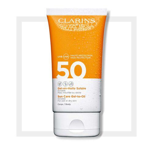 Sun Care Gel-to-Oil Body SPF50+