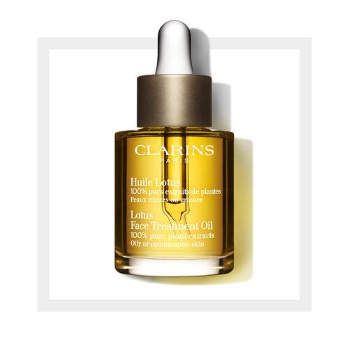 Gesichtsöl Huile Lotus - Mischhaut/ölige Haut