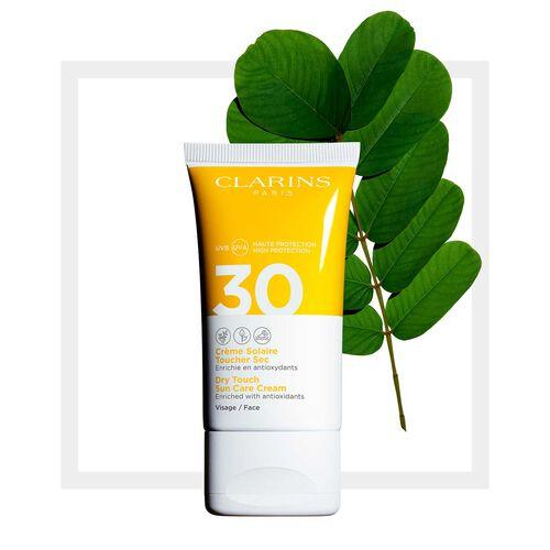 """Sonnenschutz-Creme für das Gesicht """"Dry Touch"""" UVA/UVB 30"""