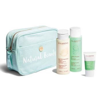 Reinigung für klare Haut. Mischhaut und ölige Haut