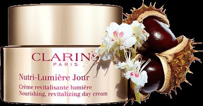 Crème de jour Nutri-Lumière avec extrait de marron d'Inde