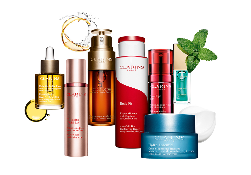 Clarins best-sellers
