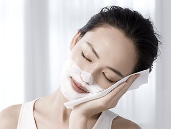 So tragen Sie Ihre Maske Lift-Affine Masque Intensif auf