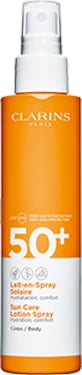 Sonnenschutz-Milch für den Körper im Spray UVA/UVB 50+