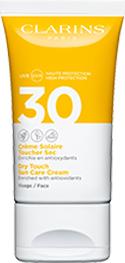Sonnenschutz-Creme für das Gesicht