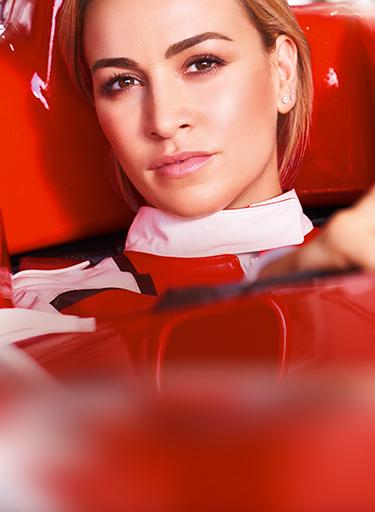 Model, Formel-1-Pilotin