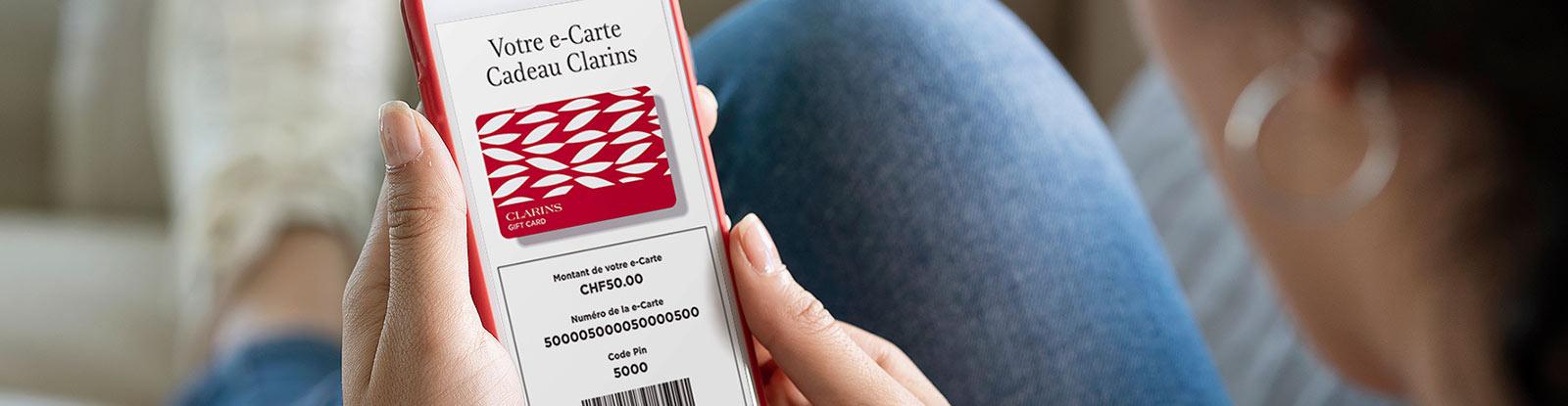 e-Carte Cadeau Clarins