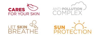 Skin Care - Anti pollution complex - Let Skin Breathe - Sun Protection