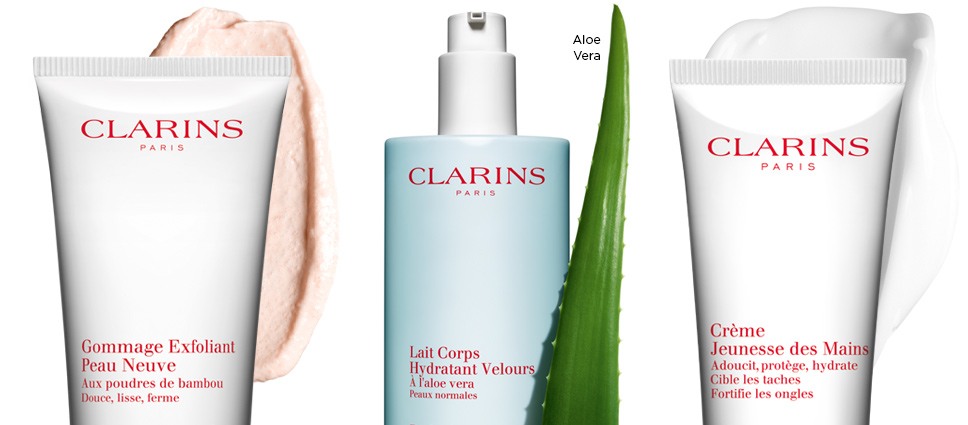 clarins soins corps